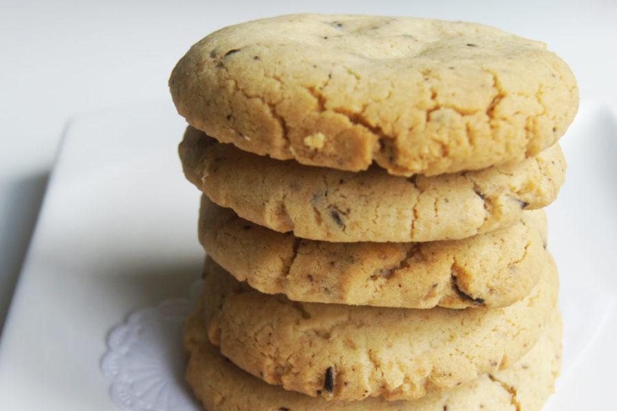 8 Schoko Erdnuss Cookies