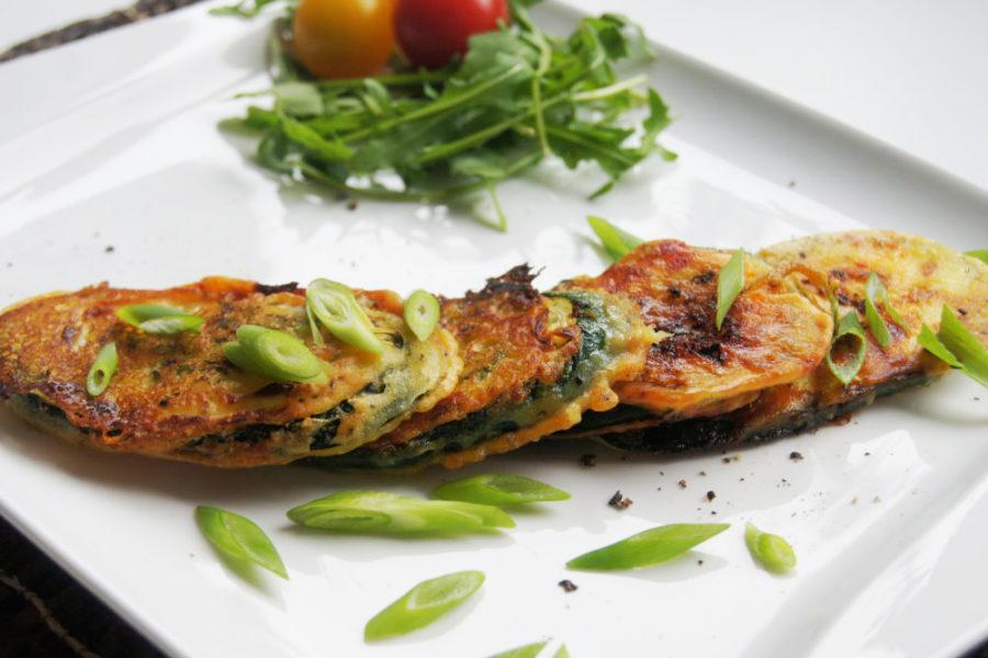 Einfache Herzhafte Zucchinischeiben