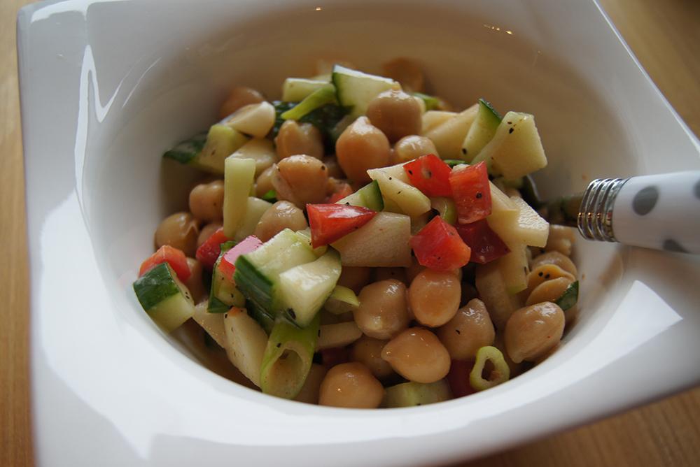 Kichererbsen-Salat ganz einfach