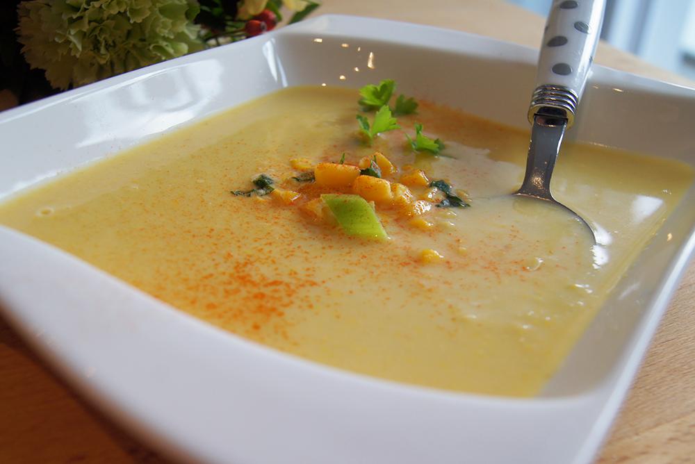Unwiderstehlich lecker – Mais-Suppe