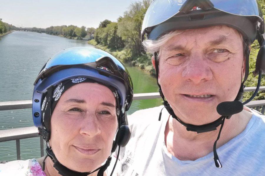 Ausstattung E-Bike Kamera, Mikrofone, Drohne